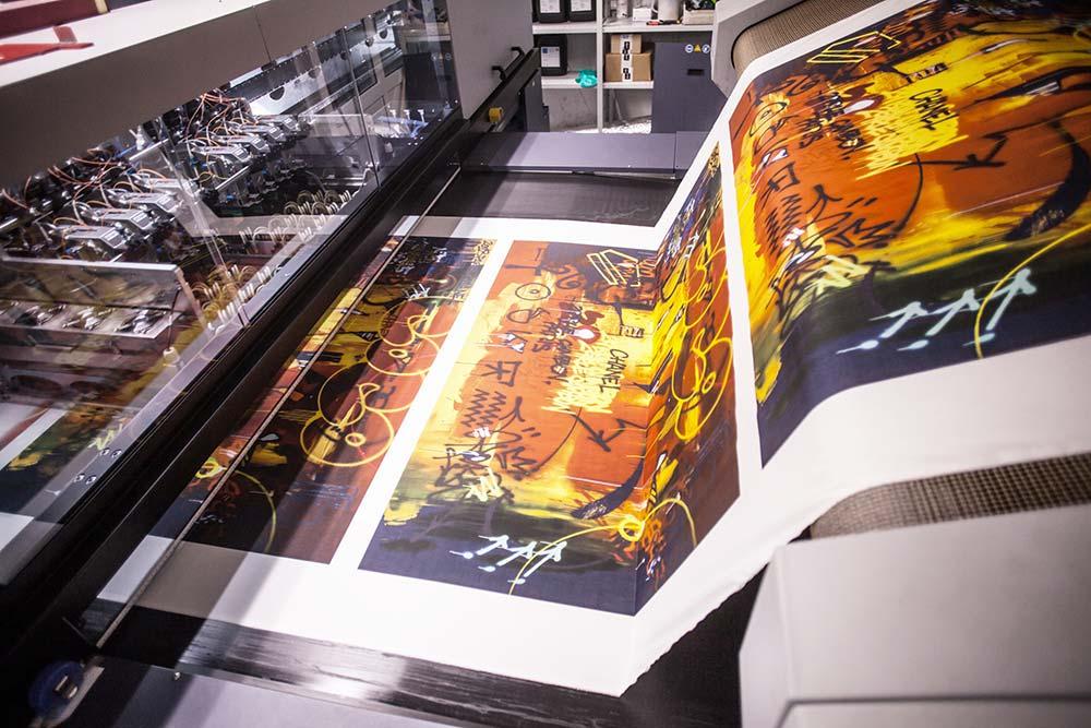 plotter stampa digitale
